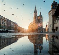 טיסה או טיסה ומלון לגדנסק-פולין ב-8-15.1 החל מכ-$92*