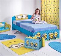 """מותג השטיחים המיניונים לחדרי ילדים בגודל 95/133 ס""""מ עשויים 100% סיבי פוליאמיד רחיץ ב-4 דוגמאות  - משלוח חינם!"""