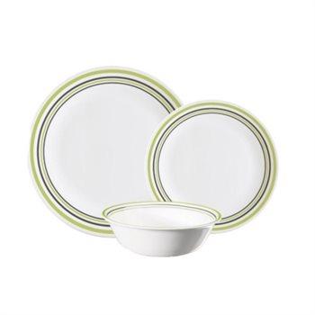 סט 18 חלקים של צלחות זכוכית CORELLE מסדרת Livingware הפופולארית - תמונה 2