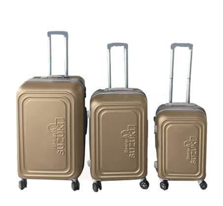סט 3 מזוודות קשיחות Toledo - שמפנייה