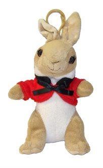 פיטר הארנב קטן חולצה אדומה 13 ס''מ