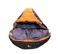 שק שינה חגור K2 - אפור חרדל