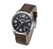 שעון יד יוקרתי לגבר מבית ADI עשוי מפלדת אל חלד, עמיד למים 50m, עם תאריכון, תאורה ומחוגים זוהרים