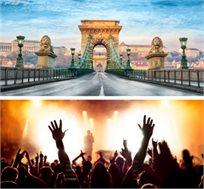 """הופעה של רוד סטיוארט בבודפשט כולל טיסות ו-4 לילות ע""""ב ארוחת בוקר החל מכ-€299* לאדם!"""