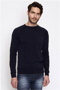 סוודר לגבר DEVRED - כחול נייבי כהה