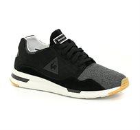 נעלי סניקרס LE COQ SPORTIF LCS R PURE SUMMER CRAFT לגברים בצבע שחור/אפור/לבן