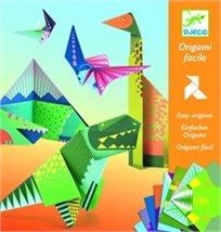 יצירה - אוריגמי דינוזאורים - Djeco