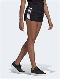 שורטס פסים שחור - Adidas נשים