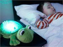 הצפרדע המרגיעה - מנורת שינה ומנגינות