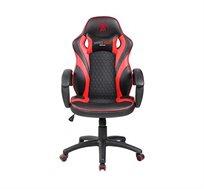 כיסא גיימרים ארגונומי ובטיחותי כולל כרית תמיכת צוואר דגם SPIDER-8200