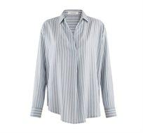 חולצת פסים בגזרה משוחררת Promod לנשים במגוון צבעים לבחירה