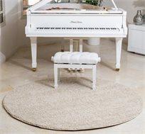 שטיח בסט שאגי עגול לחדר ילדים או לפינת טלוויזיה במבחר צבעים לבחירה  - משלוח חינם