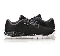 נעלי ריצה לגברים Li Ning Smart Moving Running בצבעי שחור/לבן