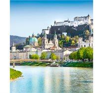 חופשת טוס וסע באגמי אוסטריה - זלצבורג, 7 לילות כולל טיסות ורכב לכל התקופה החל מכ-€609*