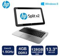 """נייד """"13.3 SPLIT 13 ULTRABOOK מבית HP משולב טאבלט דור רביעי, מעבד i3, זכרון 4GB ודיסק קשיח 128GB SSD"""