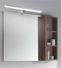 מנורת לד מעוצבת חזקה במיוחד 60ס''מ המתאים לתלייה למראה מרחפת, ארון וצמוד קיר