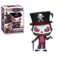 "Funko Pop - DR. Facilier ""Chase"" Glow (The Princess Frog) 508  בובת פופ"