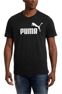 טי שירט לוגו יום יומית PUMA לגבר דגם 83711501 בצבע שחור
