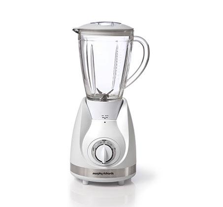 בלנדר שייקר  1.5 ליטר  כוס זכוכית לבן דגם 48384T
