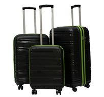 סט 3 מזוודות קלפק קמברידג' קשיחות ועמידות