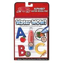 חוברת טוש המים ABC אותיות - Melissa & Doug