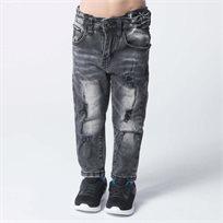 ORO ג'ינס קרעים שחור בהיר (16-1 שנים)