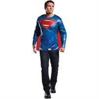 חולצה עם גלימה סופרמן מבוגרים