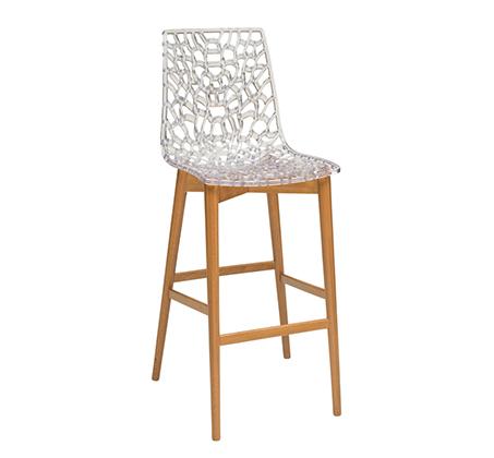 כסא בר גבוה למטבח דגם דייזי במבחר גוונים לבחירה