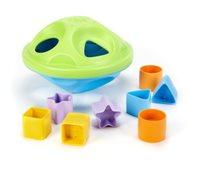 ליין ירוק: התאמת צורות -Green Toys