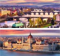 """טיול מאורגן ל-8 ימים בין בודפשט לפראג ע""""ב א.בוקר גם בחגים החל מכ-€469*"""
