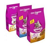 """מזון לחתול בוגר ויסקס 7 ק""""ג whiskas"""