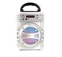 רמקול Bluetooth נייד כולל תאורת דיסקו ומיקרופון חוטי Pure Acoustics דגם LX-30