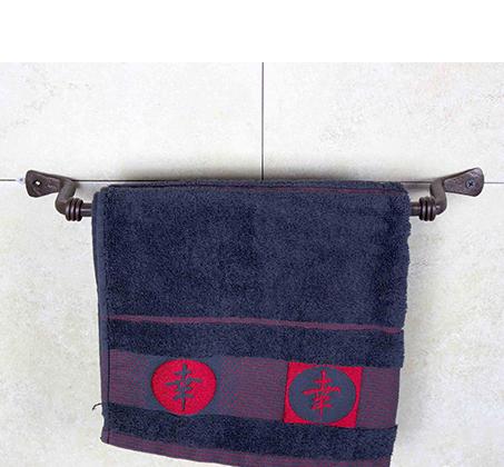מוט תלייה למגבת באורך 39 ס
