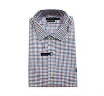 חולצה מכופתרת Polo Ralph Lauren Classic Fit - לבן אדום כחול