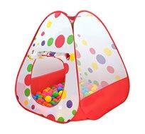 אוהל ילדים צבעוני לבית או לחצר