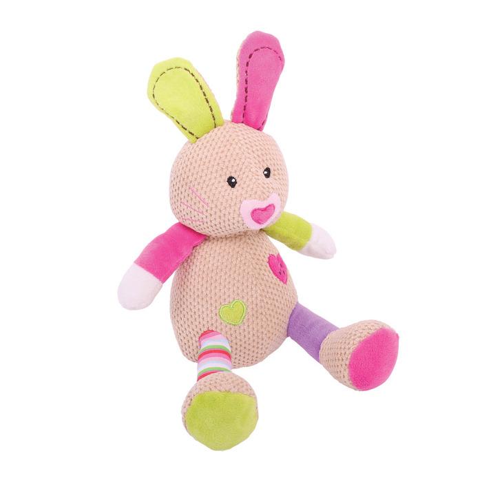 בובה רכה לתינוק - בלה הארנבת בינונית
