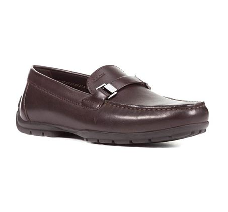 נעלי מוקסין GEOX לגברים U MONET W 2FIT A - SMO.LEA - צבע לבחירה