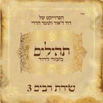 הדיסק 'שירת רבים 3- תהילים מזמור לדויד', פרוייקט מוזיקלי של דוד ד`אור ותומר הדדי