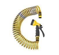 צינור השקיה 10 מטר עשוי מפוליאוריתן חומר השומר על התכונה הקפיצית