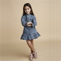 ORO שמלה(8-2 שנים)- ג'ינס