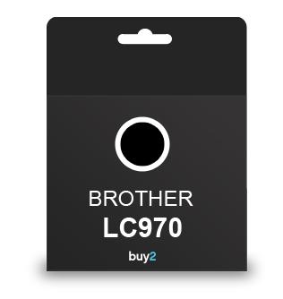 ראש דיו תואם BROTHER LC970 שחור