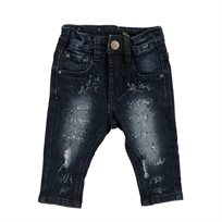 ORO ג'ינס(12 חודשים -16 שנים) - כחול שטיפה חריטות