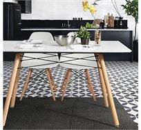 שולחן מעוצב ומודרני לשימוש בבית ובמשרד דגם לונדון Homax