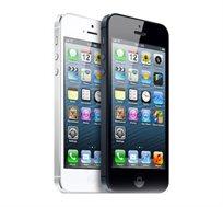 IPHONE 5 עם 16GB, פתוח לכל הרשתות, תמיכה בעברית, מצלמה 8MP ושנה אחריות