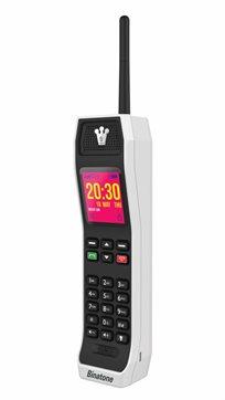 מכשיר סלולרי The Brick, בעיצוב רטרו הישר משנות ה-80, תומך בהודעות, בלוטוס ועוד, בשני דגמים לבחירה