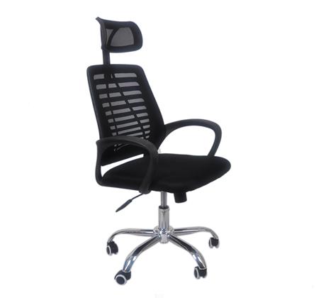 כסא משרדי לישיבה נוחה עם משענת לראש