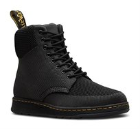 נעלי גברים Dr. Martens דגם ריגל גבוה בצבע שחור