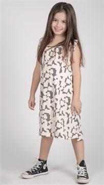 MAYAYA שמלת גופייה (2-14 שנים) ניוד הדפס פאזל