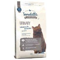 מזון לחתולים לבעיות דרכי השתן  יורנריסנבל יורינרי 10 ק''ג Sanabelle