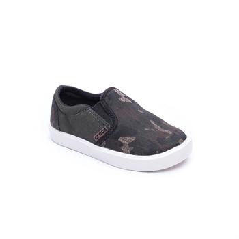 Crocs Citilane Novelty Slipon Sneakers - סניקרס לילדים בעיצוב צבאי